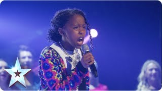 Video Asanda singing Beyonce's 'If I Were A Boy' | Final 2013 | Britain's Got Talent 2013 download MP3, 3GP, MP4, WEBM, AVI, FLV Juni 2018