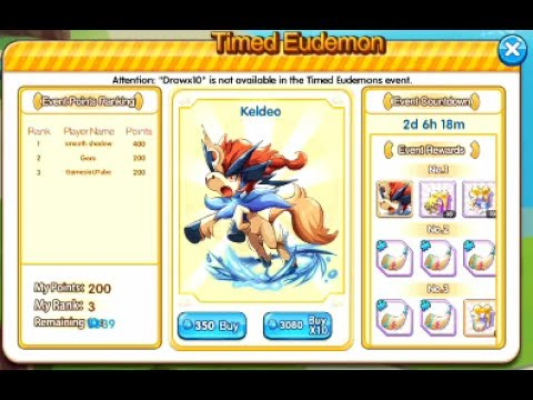 Timed Eudemon Event how it works+Site - Mystery Pets