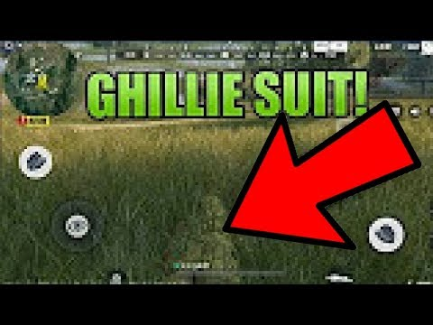 NEW GHILLIE SUIT UPDATE LEAK - Rules Of Survival