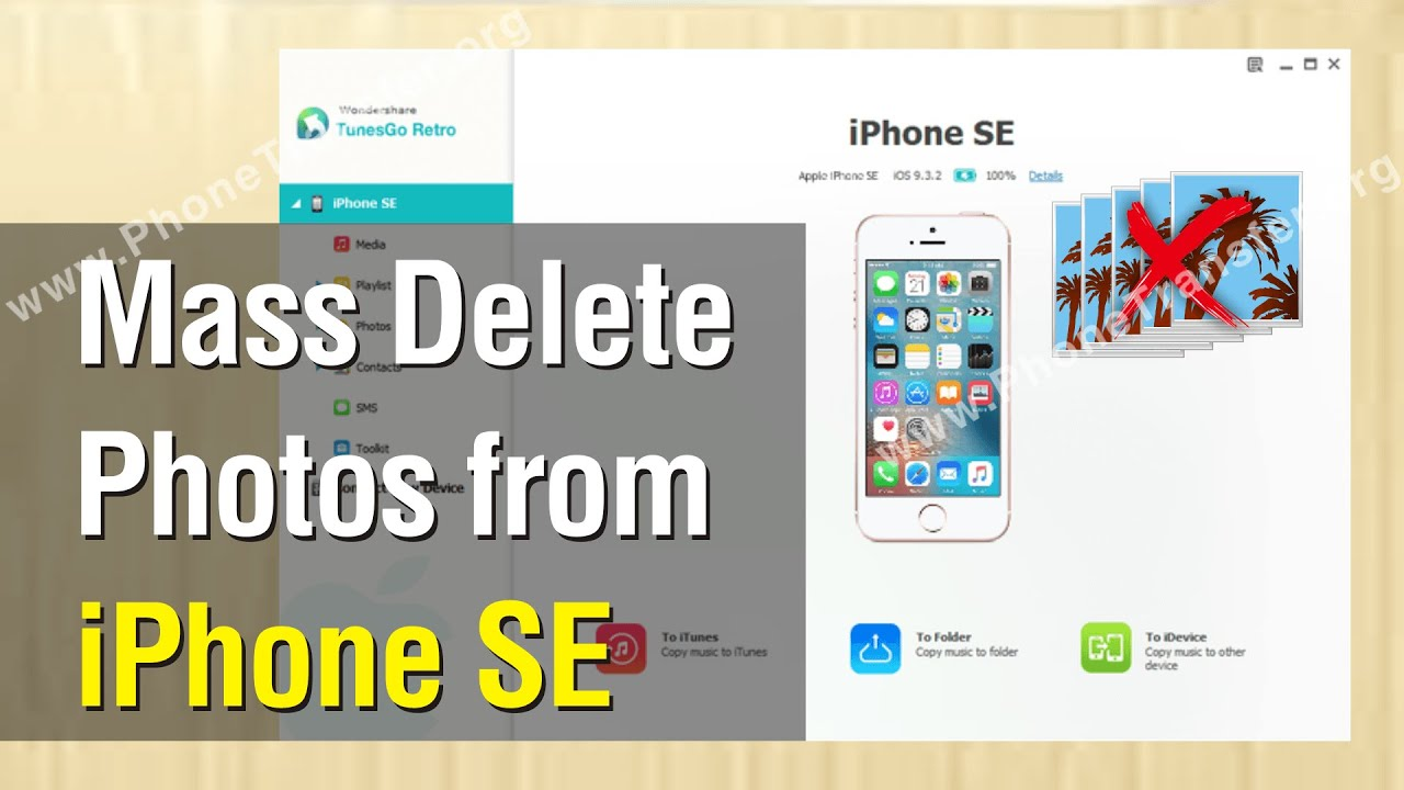 how to mass delete photos from iphone how to mass delete photos from iphone se easily 20173