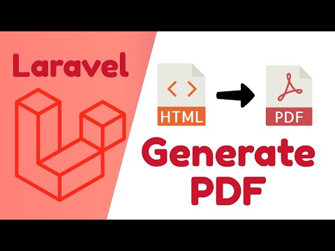 Generate PDF From HTML Using Laravel Snappy Package