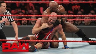 Strowman, Bálor & Angle vs. McIntyre, Corbin & Lashley: Raw, Feb. 11, 2019
