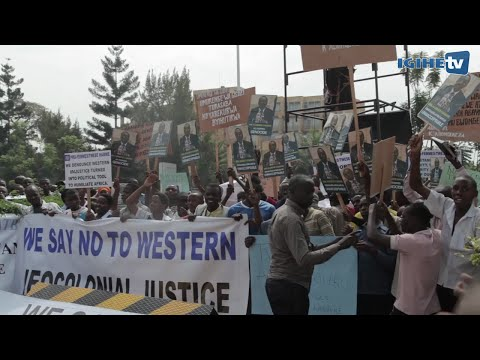 Rwandans protest to demand unconditional and immediate release of Gen. Karenzi Karake