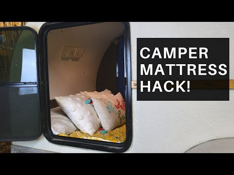 Camper Mattress Upgrade (Only a Handful of People Are Doing This!)