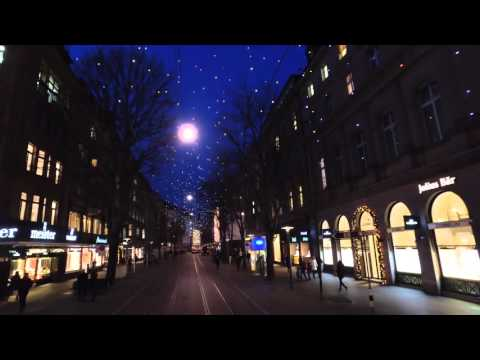 Zurich by Night Nov 2015 - Low Light Low Height