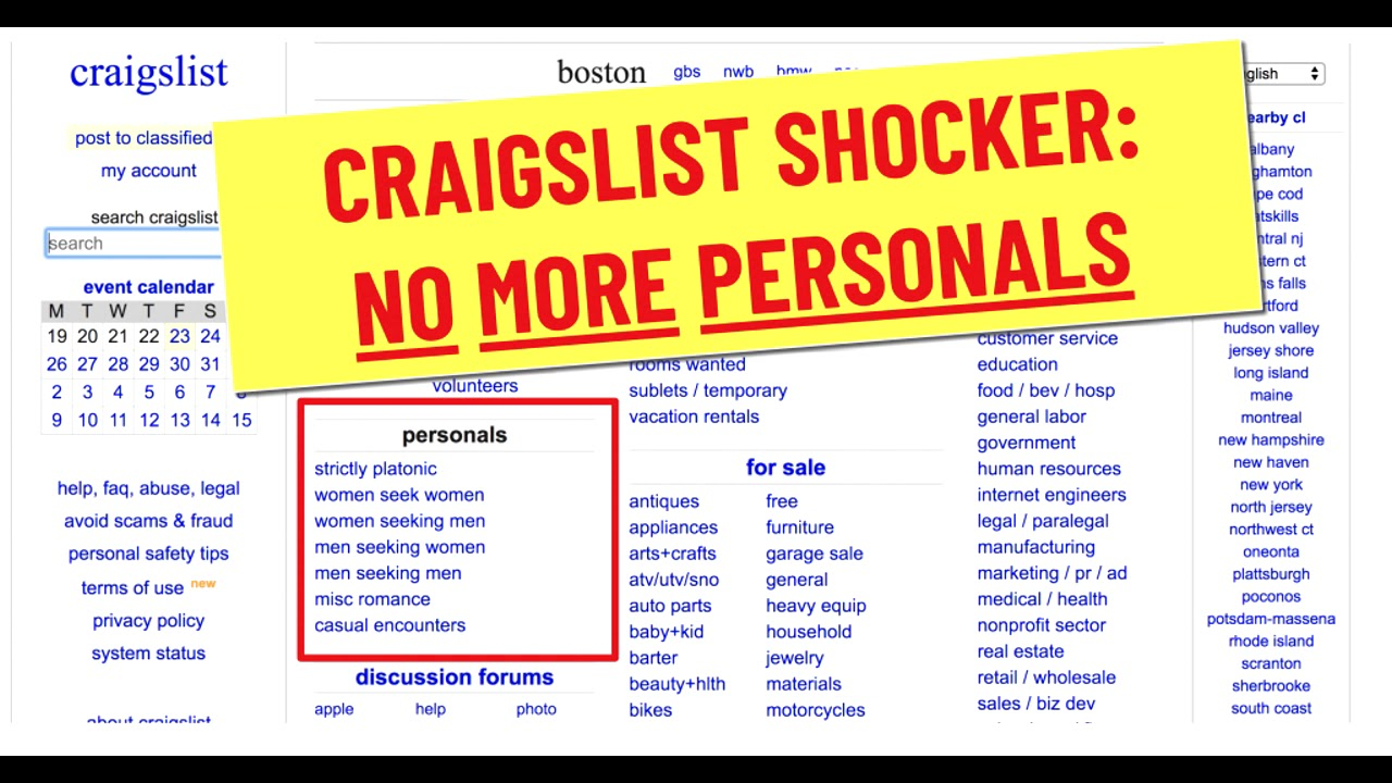 Remember Craigslist Dating What Was It Like Youtube