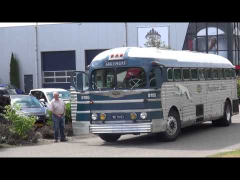 American Greyhound Line bus uit 1948