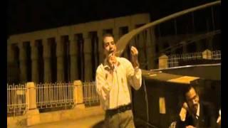 خالد الطاهر فى احتفالات الثورة امام معبد الاقصر.wmv