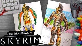Рисуем Двемерскую Броню из Skyrim, Скажи-ка Дядя
