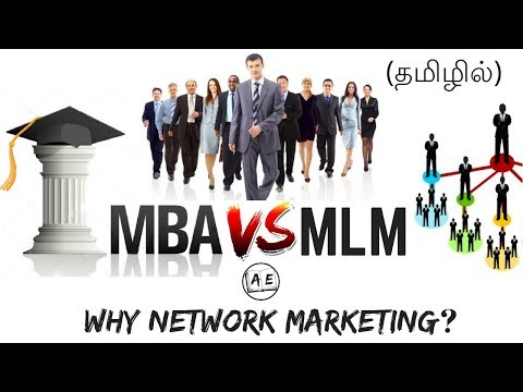 MLM/NETWORK MARKETING IN TAMIL|BENEFITS OF NETWORK MARKETING|THE BUSINESS SCHOOL|almost everything