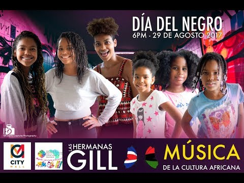 "Gill Girls en ""Dia del negro 2017"" - Alajuela Costa Rica - City Mall"