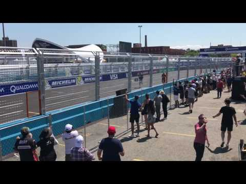 Formula-E v.s. Titan Drone Drag Race (HUGE DRONE CRASH)
