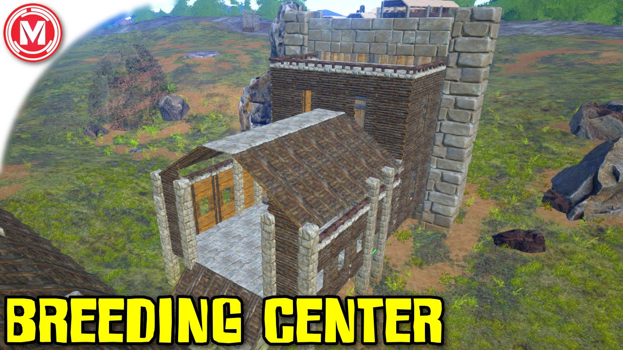 Ark survival evolved breeding center build and fanart gameplay ark survival evolved breeding center build and fanart gameplay youtube malvernweather Image collections