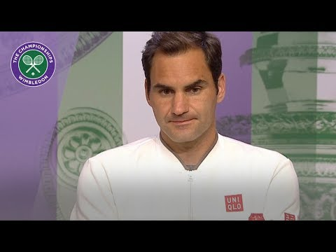 Roger Federer Semi-Final Press Conference Wimbledon 2019