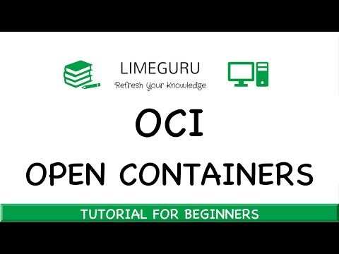 What Is OCI - Open Container Initiative In 5 Minutes