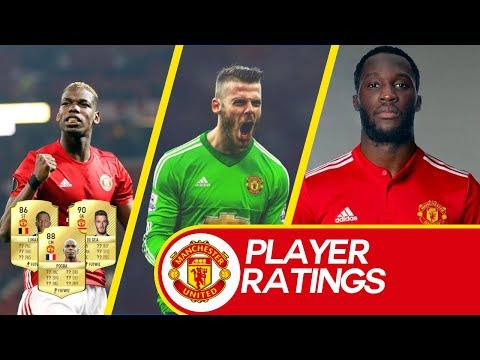 FIFA 18 PLAYER RATING PREDICTIONS - MANCHESTER UNITED!