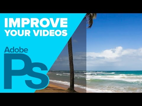 How to Improve Videos Using CAMERA RAW in Photoshop!
