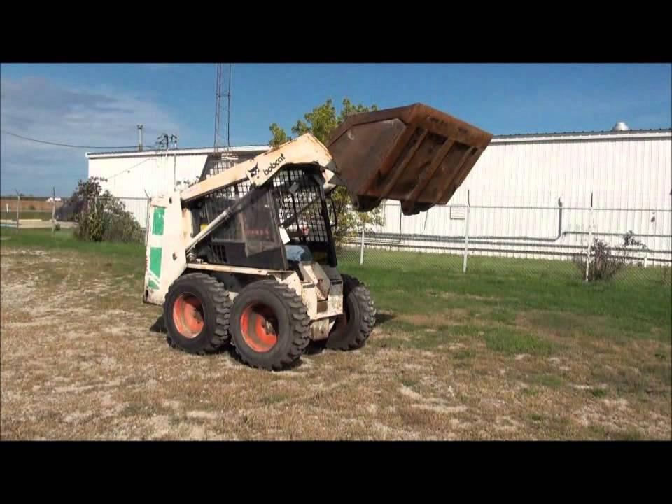 1986 Bobcat 642b Skidsteer  Online Auction Auctioneersnow