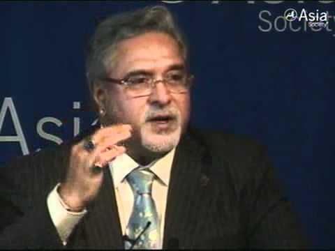 Kingfisher Takes Off (Vijay Mallya at Asia Society)