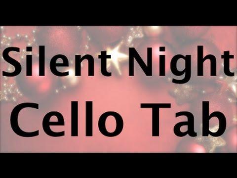 Silent Night Cello Tablature