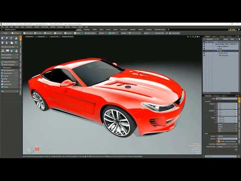 SIGGRAPH 2017 Demo - Modo 11.1: Faster content creation and VR tools