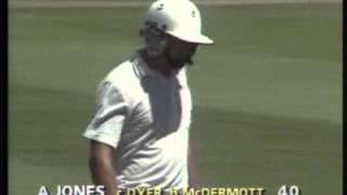 MOST CONTROVERSIAL CATCH IN CRICKET- THE INFAMOUS 'GREG DYER' CATCH - MCG 1987