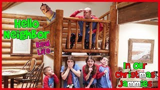 Hello Neighbor Real Life Christmas Jammies (Kids Favorite)/ That YouTub3 Family | Family Channel