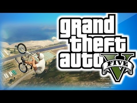 GTA 5 Online Funny Moments 12 - BMX...