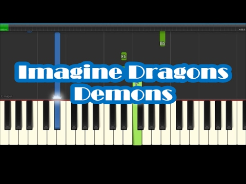 How To Play Demons By Imagine Dragons Easy Piano Tutorial Youtube