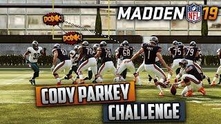 The Cody Parkey Challenge! (Madden 19 Challenge)