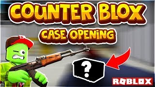 "Roblox Counter Blox Casual Gameplay - ""WE WANT SKINS!!!"" *Case Opening* - CB [ROBLOX CSGO]"