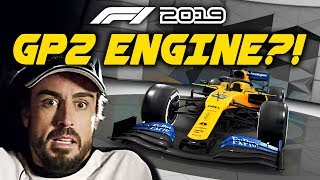 What Happens When We Have A GP2 ENGINE In An F1 Car?! | F1 2019 Game Experiment