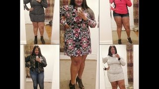Try On Plus size Clothing Haul 2016