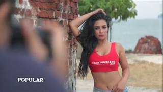 Sesi Tanya Jawab Spontan 6 Bikini Girls | POPULAR Photo Competition Swimsuit For Fun 2017