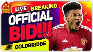OFFICIAL SANCHO BID MADE!!! Man Utd Transfer News