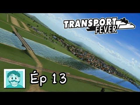 Les débuts de MonOncleAir! - Jouons Transport Fever - Ép 13