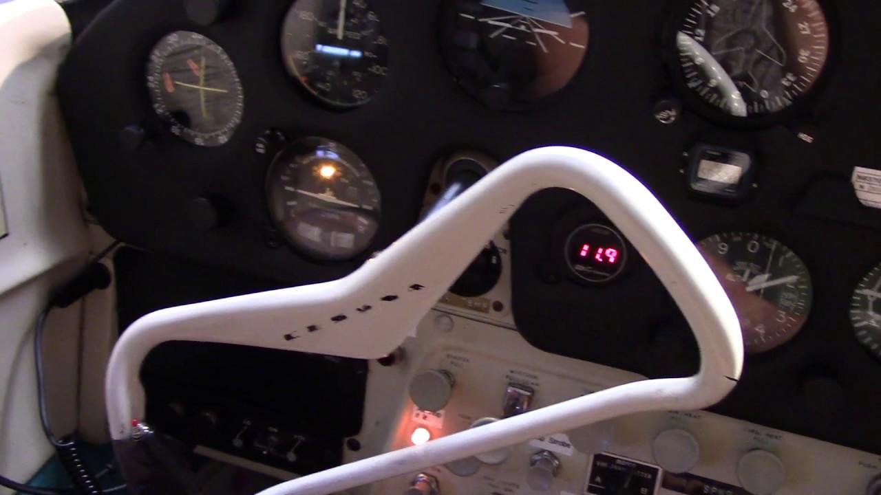 Cessna 172 - Stec System 30 Autopilot + Altitude Ground Test