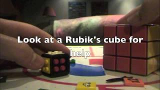how to make a lego 1x1 rubik s cube