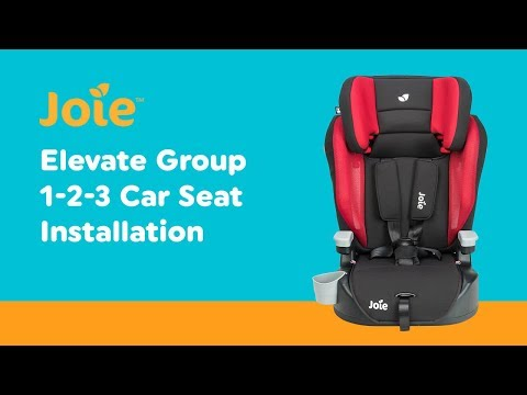 ec077859d1b1 Installation Guide for Joie - Elevate Group 1-2-3 Car Seat| Smyths Toys -  YouTube