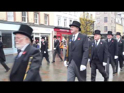 Kirking Of The Council Armistice Day Parade Perth Perthshire Scotland