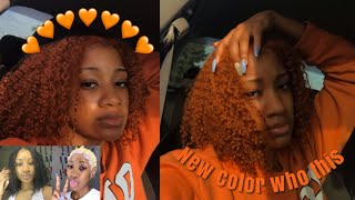 Dying my hair ORANGE (wtf)🍊 RuthTheTruth