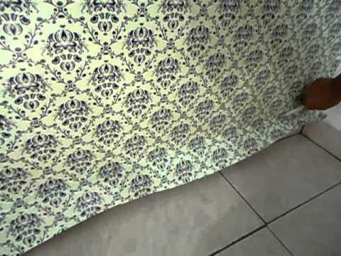 Adesivos decorativos como colocar papel de paredes youtube - Como pegar papel pintado ...