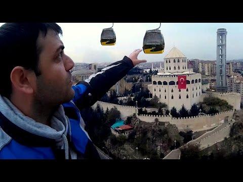 Keçiören Estergon Kalesi | Teleferik | Ankara'yı geziyorum