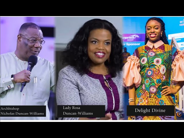 Delight Divine Interviews Archbishop Nicholas Duncan-Williams & Lady Rosa Whitaker Duncan-Williams