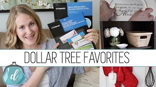 DOLLAR TREE FAVORITES  | Home & Organizing 2016