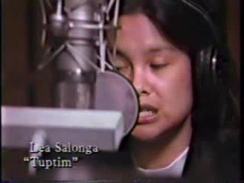 King and I Recording Lea Salonga