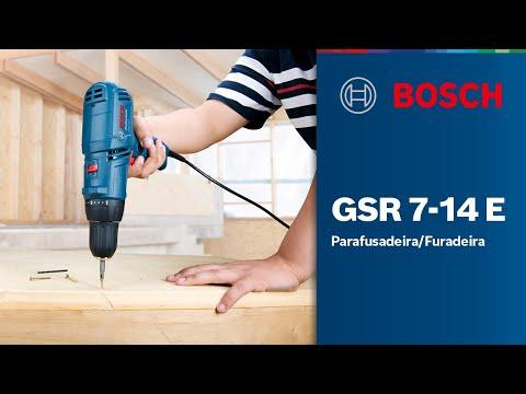 Parafusadeira/Furadeira Bosch GSR 7-14 E
