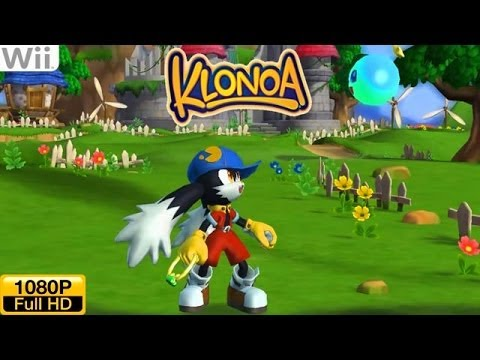 Klonoa PlayStation VS Wii Comparison Doovi