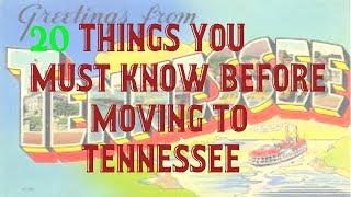 20 Things you must know before moving to Tennessee