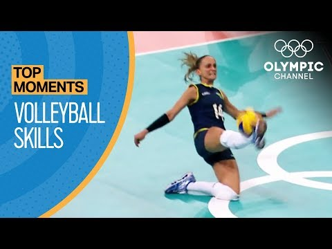 Top 5 Olympic Volleyball Moments | Top Moments